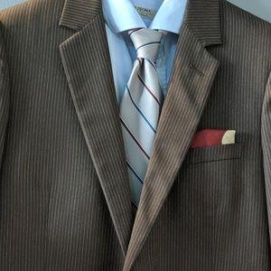 Dior Pinstripe Suit Super 110's